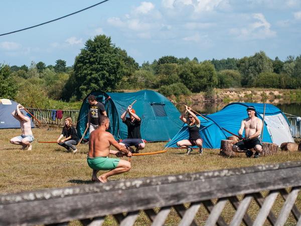 Лагерь айкидо