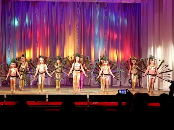 Танец павлинов, Ирида