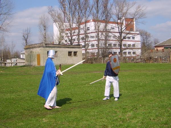 Апрель, Рыцарский турнир