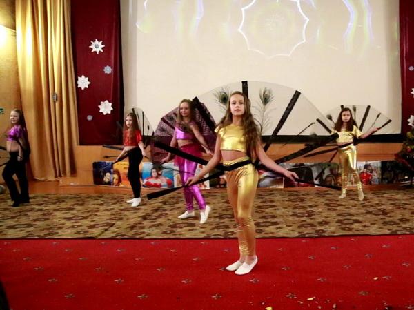 Восточные танцы дети