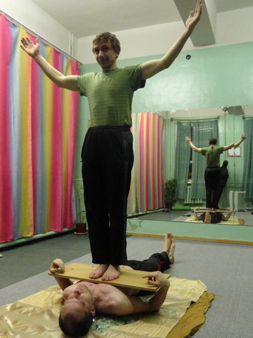 Тренинг стеклохождение
